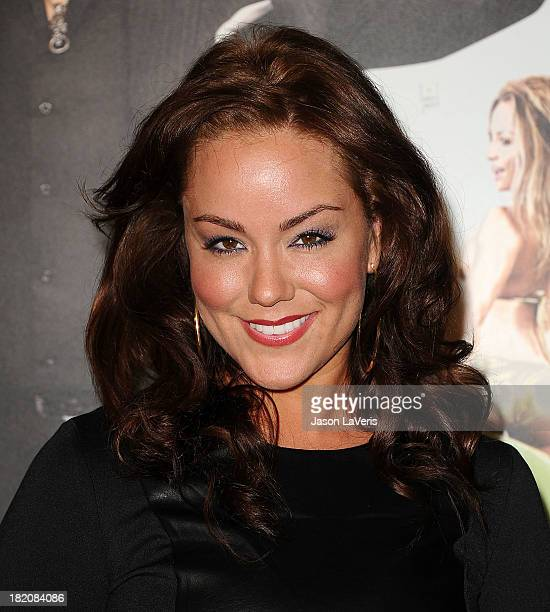 Actress Katy Mixon attends the premiere of HBO's final season of Eastbound And Down at Avalon on September 27 2013 in Hollywood California