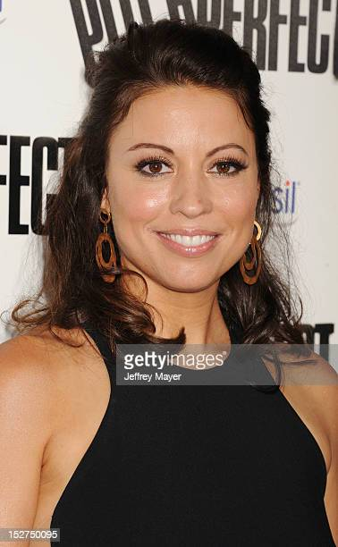 Actress Kay Cannon attends the 'Pitch Perfect' Los Angeles Premiere at ArcLight Hollywood on September 24 2012 in Hollywood California