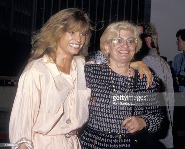 Actress Kay Lenz and mother Kay Miller Lenz attend the Ishtar Century City Premiere on May 13 1987 at Plitt's Century Plaza Theatres in Century City...