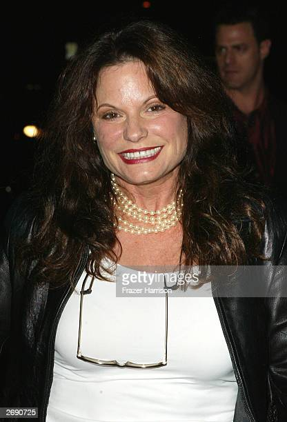 Actress Kay Lenz arrives for the William Holden Wildlife Foundation's 20th Anniversary 'Broadway goes to the Movies' concert held at the Los Angeles...