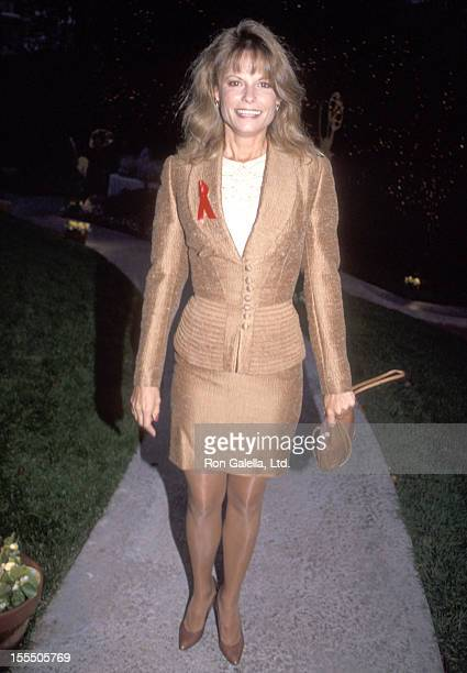 Actress Kay Lenz attends the 44th Annual Primetime Emmy Awards Nominees Cocktail Reception on August 25 1992 at Westwood Marquis Hotel in Westwood...