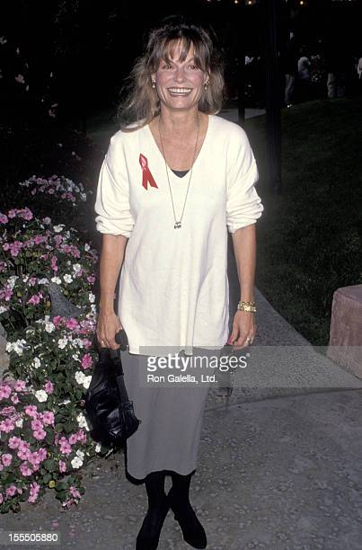 Actress Kay Lenz attends the 45th Annual Primetime Emmy Awards Nominees Cocktail Reception on September 13 1993 at Westwood Marquis Hotel in Westwood...