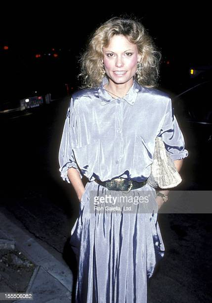 Actress Kay Lenz attends the Find the Children Benefit Party on April 1 1986 at Club 22 in Hollywood California