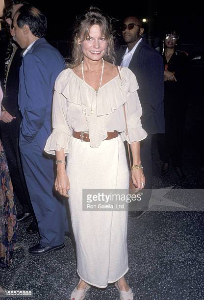 Actress Kay Lenz attends the Five Guys Named Moe Opening Night Performance on July 15 1993 at James A Doolittle Theatre in Hollywood California