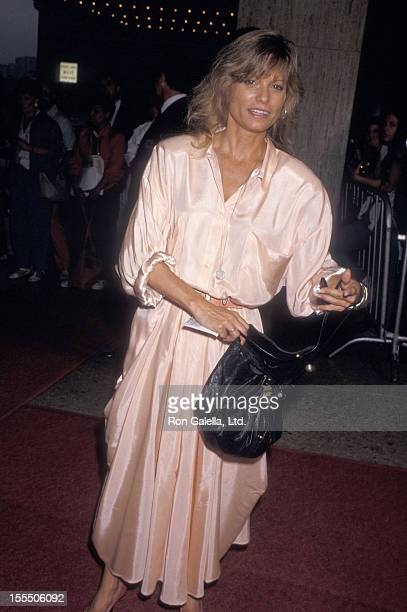 Actress Kay Lenz attends the Ishtar Century City Premiere on May 13 1987 at Plitt's Century Plaza Theatres in Century City California