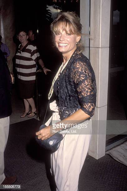 Actress Kay Lenz attends the NBC Teleivision Affiliates Party on July 11 1992 at Century Plaza Hotel in Los Angeles California