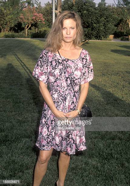 Actress Kay Lenz attends the Second Annual Los Angeles ProCelebrity Rodeo Weekend Event on August 3 1990 at Los Angeles Equestrian Center in Burbank...