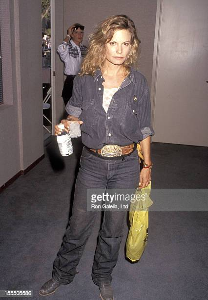 Actress Kay Lenz attends the Third Annual Los Angeles ProCelebrity Rodeo Weekend Event on August 3 1991 at Los Angeles Equestrian Center in Burbank...