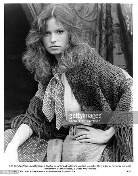 Actress Kay Lenz poses for a portrait as Leah Bergson in 'The Passage' in circa 1979
