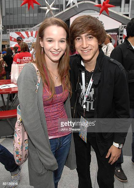 Actress Kay Panabaker And Actor Vincent Martella Attend Target Presents Varietys Power Of Youth