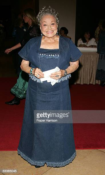 Actress Kay Starr attends the Golden Boot Awards held at the Beverly Hilton Hotel on August 13, 2005 in Beverly Hills, California.