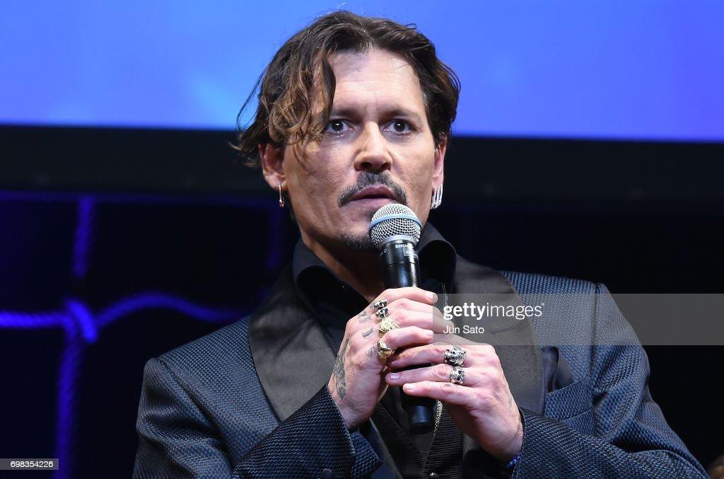 """Pirates Of The Caribbean: Dead Men Tell No Tales"" Japan Premiere : ニュース写真"