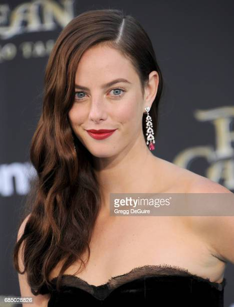 Actress Kaya Scodelario arrives at the premiere of Disney's Pirates Of The Caribbean Dead Men Tell No Tales at Dolby Theatre on May 18 2017 in...
