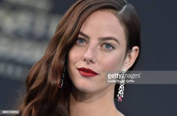 Actress Kaya Scodelario arrives at the premiere of Disney's 'Pirates of the Caribbean Dead Men Tell No Tales' at Dolby Theatre on May 18 2017 in...