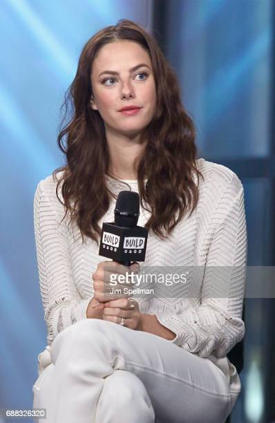 Actress Kaya Scodelario attends Build to discuss 'Pirates Of The Caribbean Dead Men Tell No Tales' at Build Studio on May 25 2017 in New York City