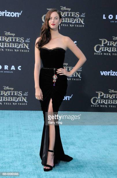 Actress Kaya Scodelario attends premiere of Disney's 'Pirates Of The Caribbean Dead Men Tell No Tales' at Dolby Theatre on May 18 2017 in Hollywood...