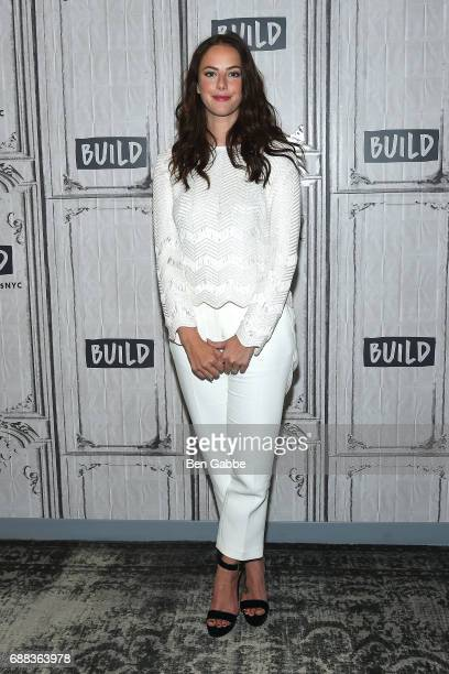 Actress Kaya Scodelario attends the Build Series to promote the new film 'Pirates of the Caribbean Dead Men Tell No Tales' at Build Studio on May 25...