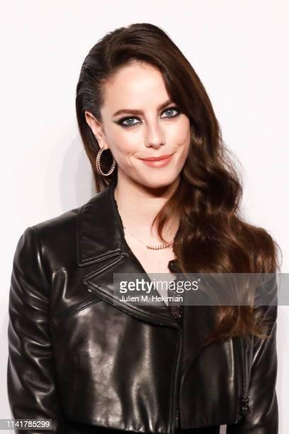 Actress Kaya Scodelario attends the Clash De Cartier Launch Photocall At La Conciergerie In Paris on April 10 2019 in Paris France