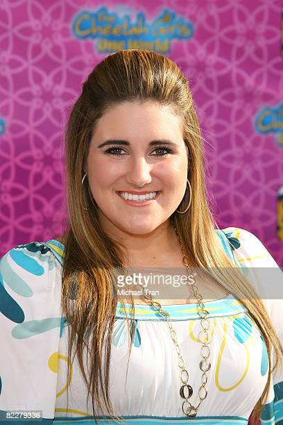 """Actress Kaycee Stroh arrives at Disney Channel's """"The Cheetah Girls: One World"""" Los Angeles Premiere held at El Capitan Theatre on August 12, 2008 in..."""