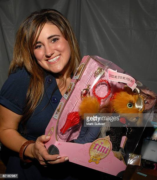 Actress Kaycee Stroh attends the Mattel Celebrity Retreat produced by Backstage Creations at Teen Choice 2008 on August 2 2008 in Universal City...