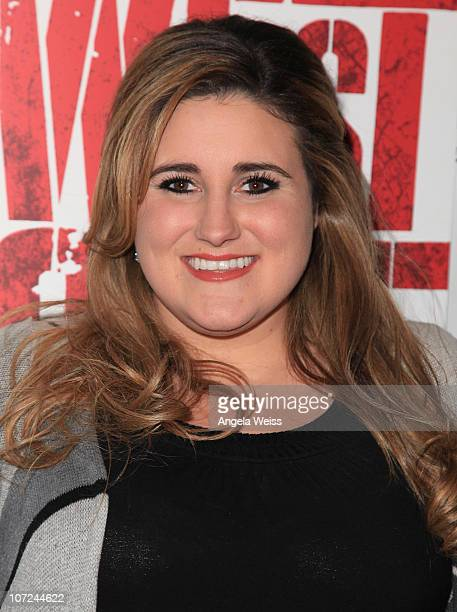 Actress Kaycee Stroh attends the opening night of 'West Side Story' at the Pantages Theatre on December 1 2010 in Hollywood California