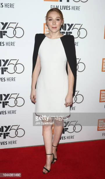 Actress Kayli Carter attends the 56th New York Film Festival premiere of Private Life at Alice Tully Hall Lincoln Center on October 1 2018 in New...