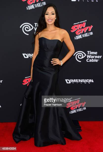Actress Kea Ho attends Premiere of Dimension Films' Sin City A Dame To Kill For at TCL Chinese Theatre on August 19 2014 in Hollywood California