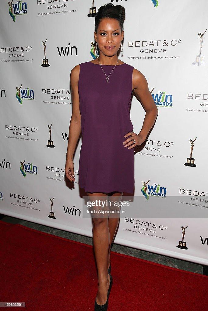 Actress Kearran Giovanni attends the 2013 Women's Image Awards at Santa Monica Bay Womans Club on December 11, 2013 in Santa Monica, California.