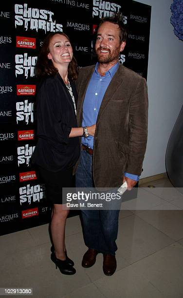 Actress Keeley Hawes and husband Matthew Macfadyen attend the Ghost Stories Press Night Party held on July 14 2010 at the St Martins Lane Hotel in...