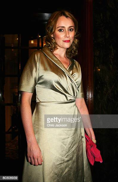 Actress Keeley Hawes attends attends The Royal Television Society Programme Awards held at Grosvenor House Hotel on March 19 2008 in London England