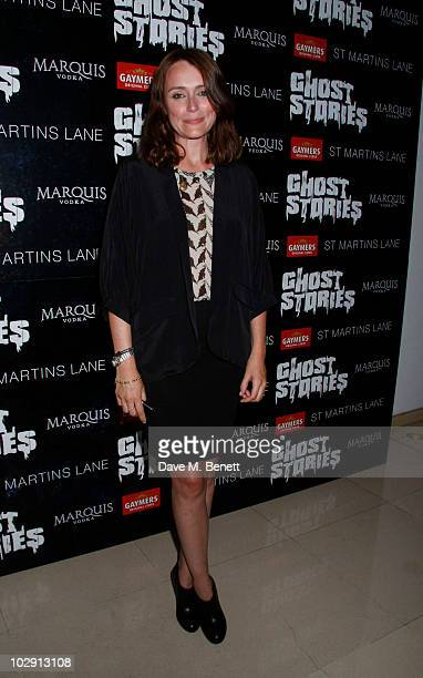 Actress Keeley Hawes attends the Ghost Stories Press Night Party held on July 14 2010 at the St Martins Lane Hotel in London England
