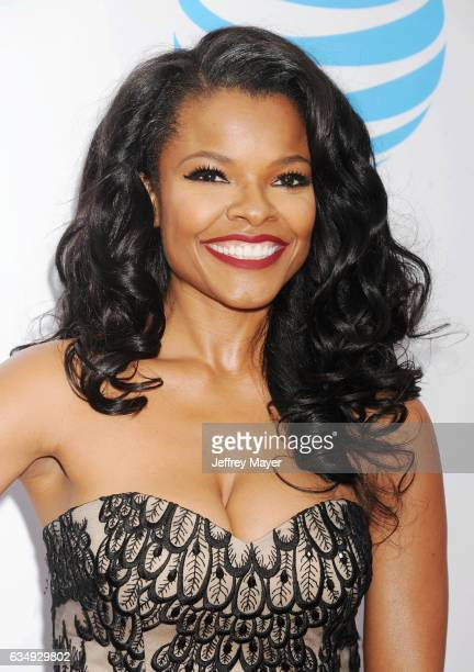 Actress Keesha Sharp arrives at the 48th NAACP Image Awards at Pasadena Civic Auditorium on February 11 2017 in Pasadena California