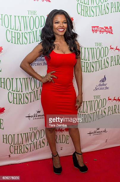 Actress Keesha Sharp arrives at the 85th Annual Hollywood Christmas Parade on November 27 2016 in Hollywood California