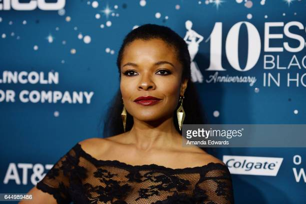 Actress Keesha Sharp arrives at the Essence 10th Annual Black Women in Hollywood Awards Gala at the Beverly Wilshire Four Seasons Hotel on February...