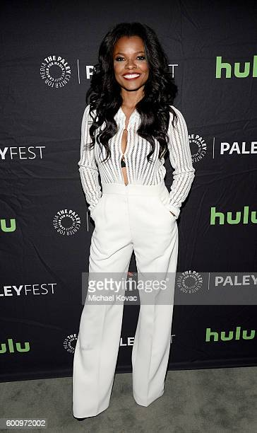 Actress Keesha Sharp arrives at The Paley Center for Media's 10th Annual PaleyFest Fall TV Previews honoring FOX's Lethal Weapon at the Paley Center...
