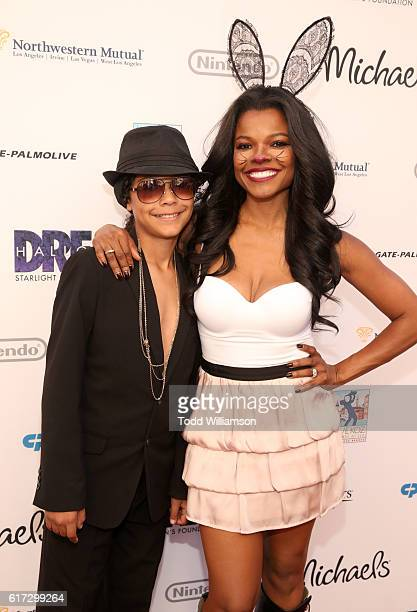 Actress Keesha Sharp attends Starlight's Dream Halloween 2016 on October 22 2016 in Los Angeles California