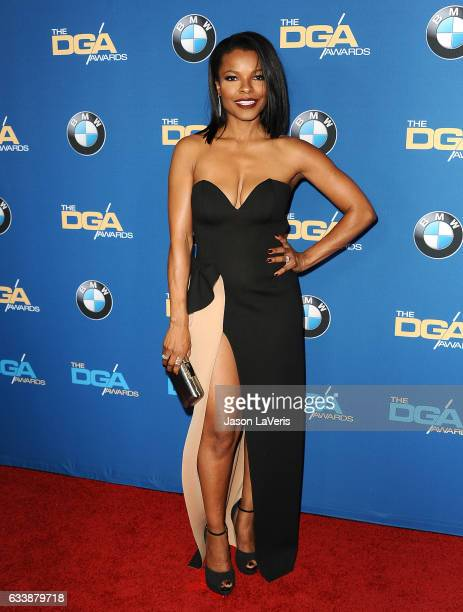 Actress Keesha Sharp attends the 69th annual Directors Guild of America Awards at The Beverly Hilton Hotel on February 4 2017 in Beverly Hills...