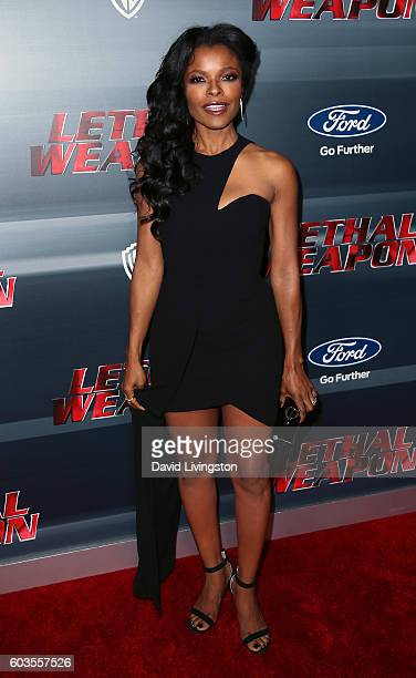 Actress Keesha Sharp attends the premiere of Fox Network's 'Lethal Weapon' at NeueHouse Hollywood on September 12 2016 in Los Angeles California