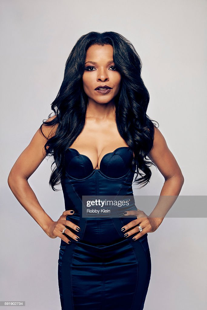 Actress Keesha Sharp from FOX's 'Lethal Weapon' poses for a portrait at the FOX Summer TCA Press Tour at Soho House on August 9, 2016 in Los Angeles, California.