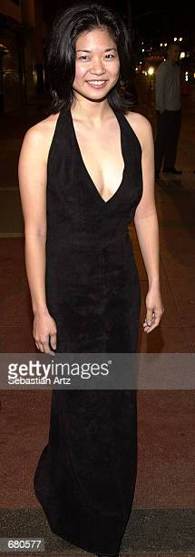 Actress Keiko Agena arrives at the Second Annual AMMY Awards For Asian American Entertainment November 10 2001 in Los Angeles CA