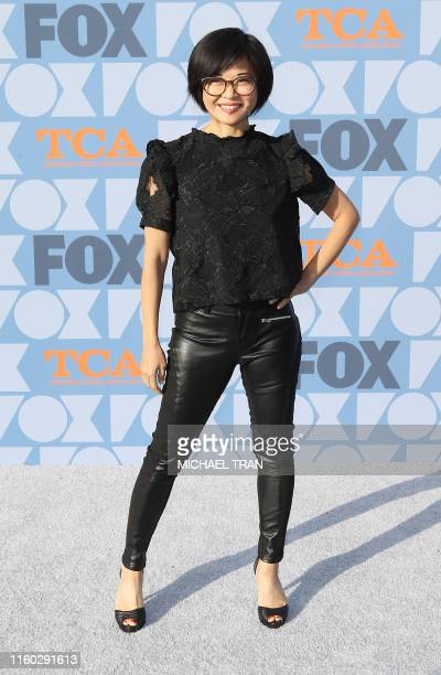 US actress Keiko Agena attends the FOX Summer TCA 2019 AllStar Party at Fox Studios on August 7 2019 in Los Angeles