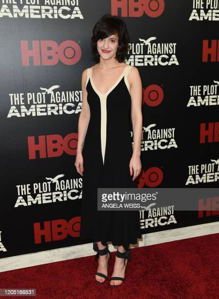 Actress Keilly McQuail attends HBO's The Plot Against America premiere at Florence Gould Hall on March 4 2020 in New York City