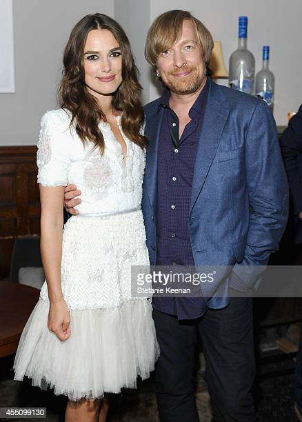 Actress Keira Knightley and at The Weinstein Company and Elevation Pictures' The Imitation Game premiere party hosted by GREY GOOSE vodka and Soho...