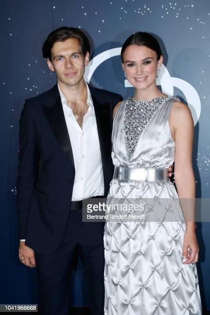 Actress Keira Knightley and her husband James Righton attend the Opening Season Paris Opera Ballet Gala as part of the Paris Fashion Week Womenswear...