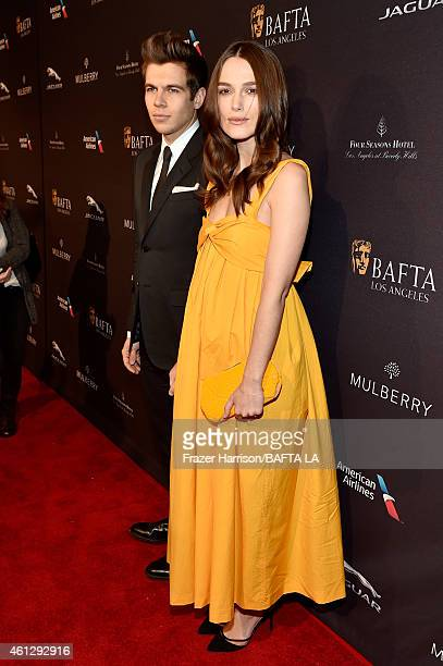 Actress Keira Knightley and musician James Righton attend the BAFTA Los Angeles Tea Party at The Four Seasons Hotel Los Angeles At Beverly Hills on...