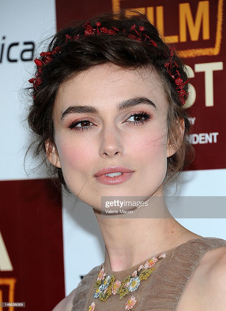 Actress Keira Knightley arrives at Film Independent's 2012 Los Angeles Film Festival Premiere Of Focus Features' 'Seeking A Friend For The End Of The World' at Regal Cinemas L.A. Live on June 18, 2012 in Los Angeles, California.