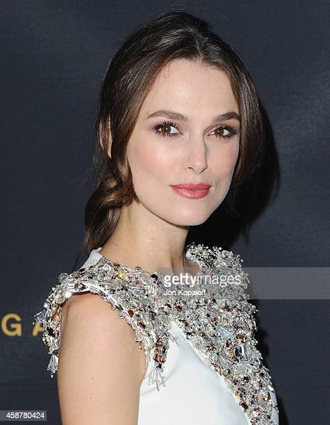 Actress Keira Knightley arrives at the Los Angeles Special Screening of 'The Imitation Game' Hosted By Chanel at DGA Theater on November 10 2014 in...