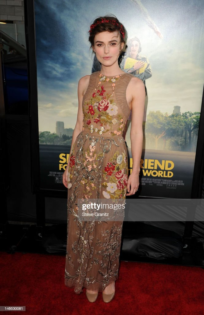 Actress Keira Knightley arrives at the premiere of 'Seeking a Friend for the End of the World' at the 2012 Los Angeles Film Festival held at Regal Cinemas L.A. Live on June 18, 2012 in Los Angeles, California.