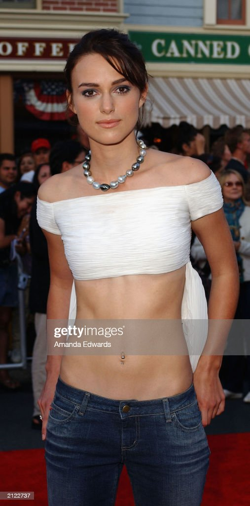 """Keira Knightley at """"Pirates of the Caribbean"""" world premiere : News Photo"""