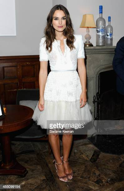 Actress Keira Knightley at The Weinstein Company and Elevation Pictures' The Imitation Game premiere party hosted by GREY GOOSE vodka and Soho House...